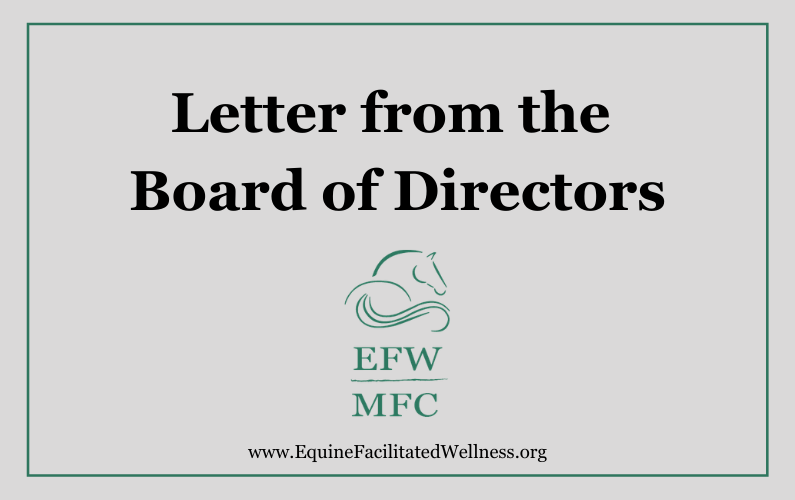 Letter from the Board of Directors